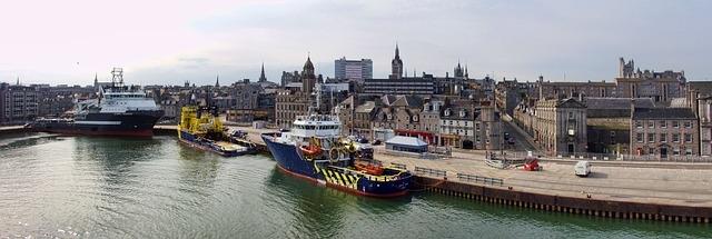 Aberdeen kikötője