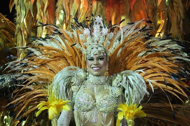 Riói karnevál táncosnője