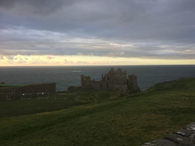 Az írországi Dunluce kastély
