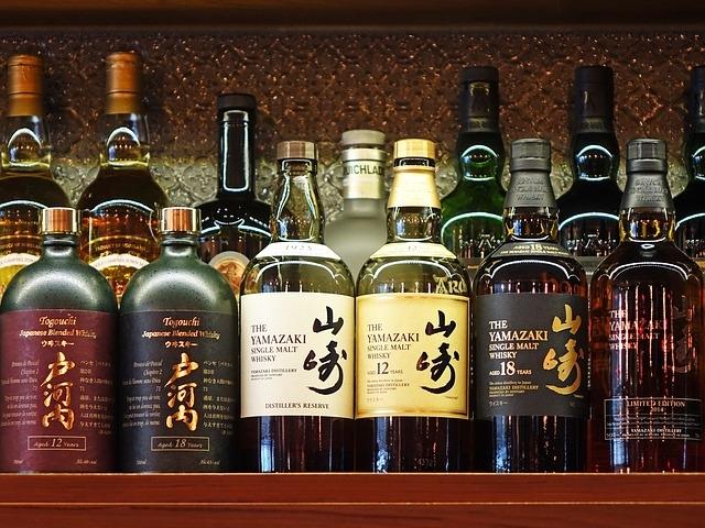 Japán whisky válogatás