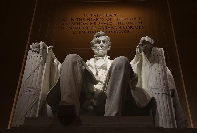 Abraham Lincoln emlékműve Washingtonban