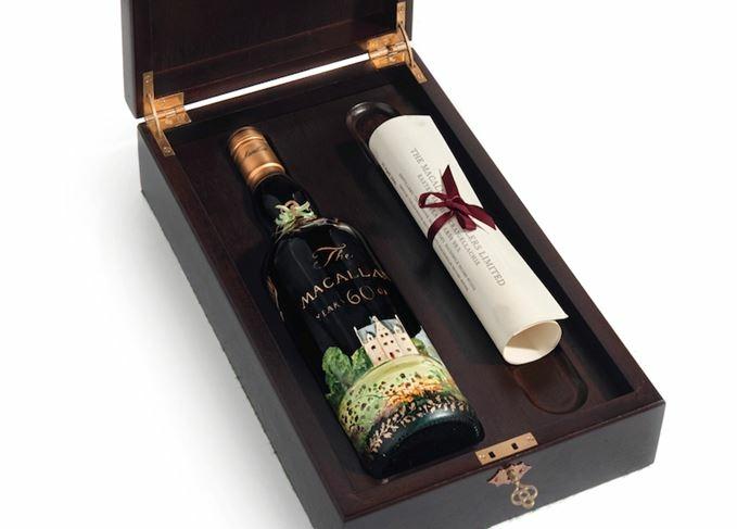 Macallan 60 years whisky, ami több, mint 1 millió fontért kelt el