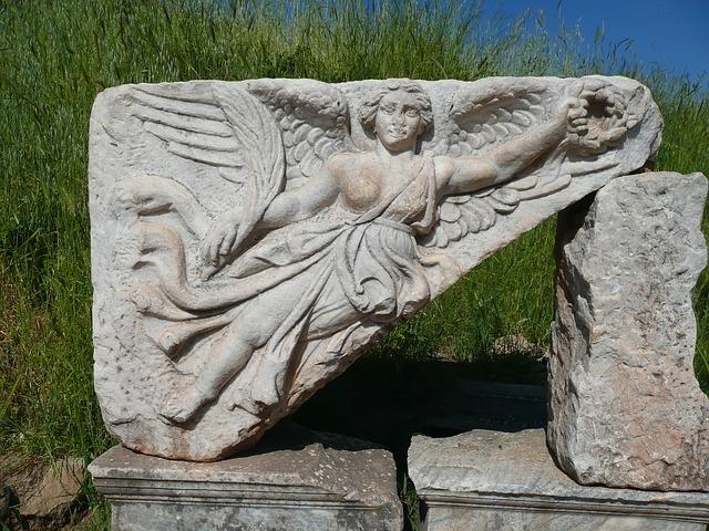 Niké, a győzelem görög istennője