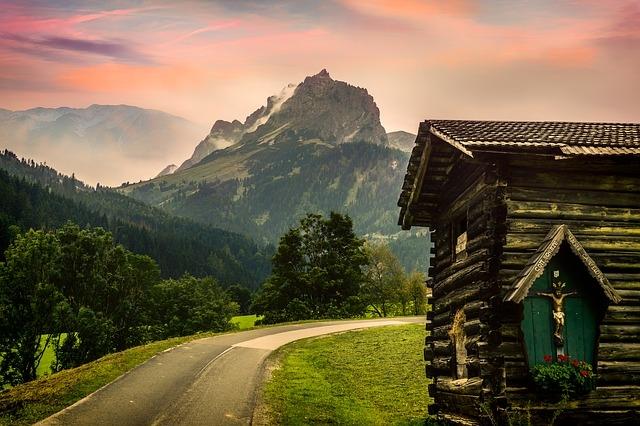 Osztrák hegycsúcs