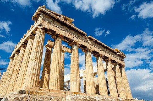 Parthenón Görögországban
