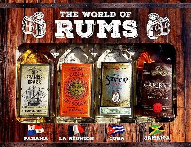 Karibi rum márkák