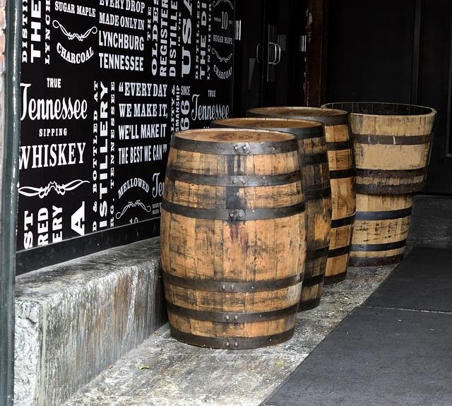 Tennessee whiskey hordók