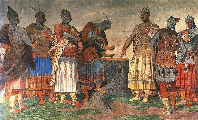 Vérszeződés - Székely Bertalan freskója