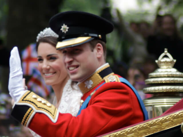Vilmos herceg és Katalin hercegnő