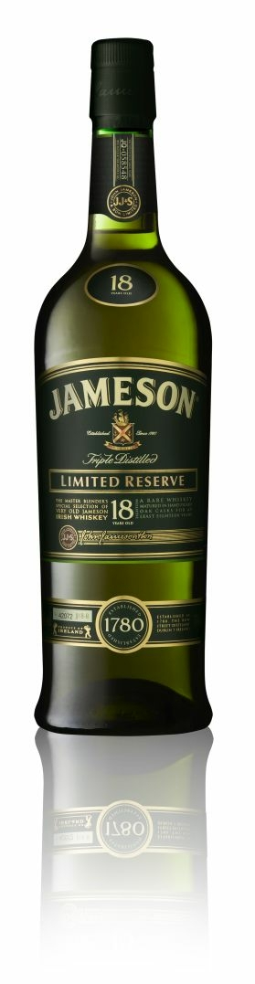 Jameson 18 Year Old Whiskey