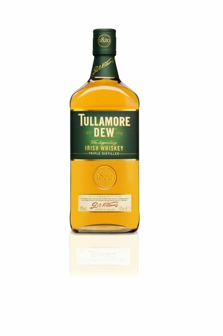 Tullamore D.E.W. whiskey