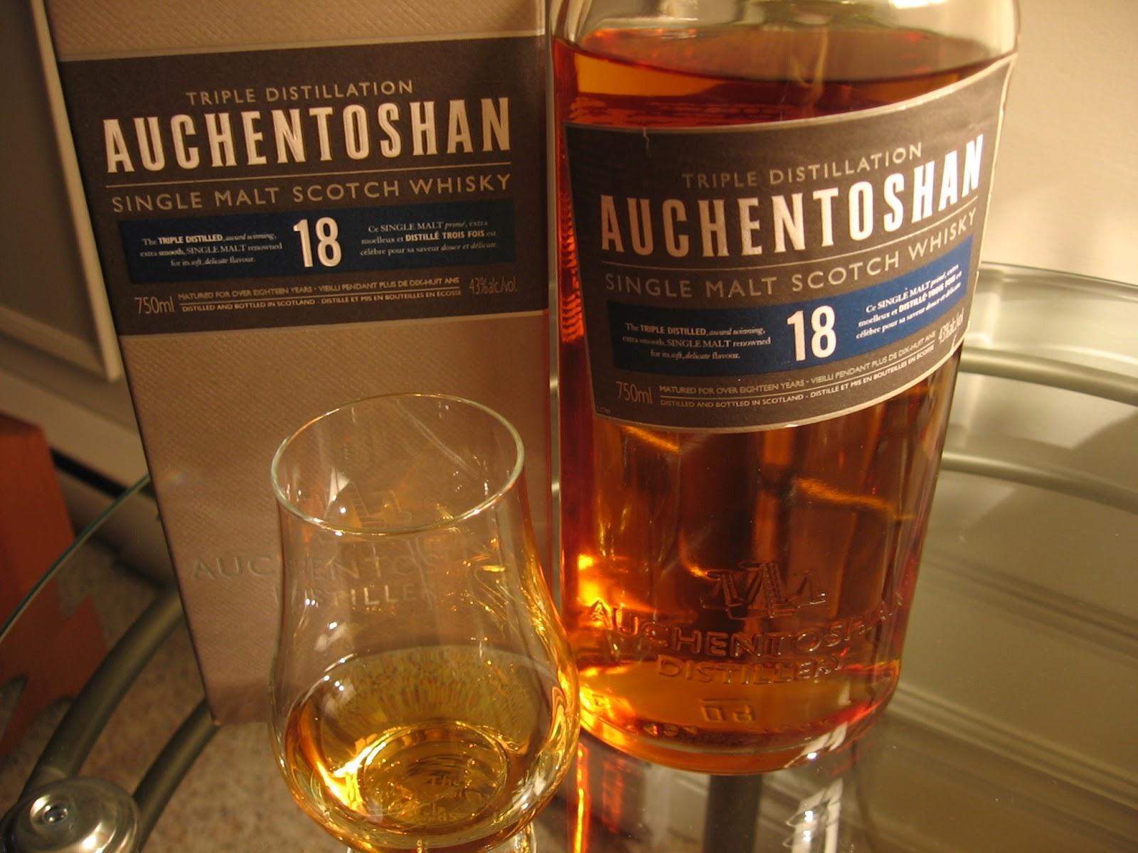 Auchentoshan 18 Year Old Whisky