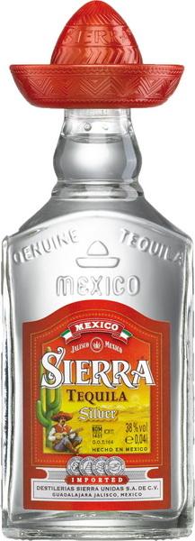 Sierra Silver tequila - őt biztos láttad már