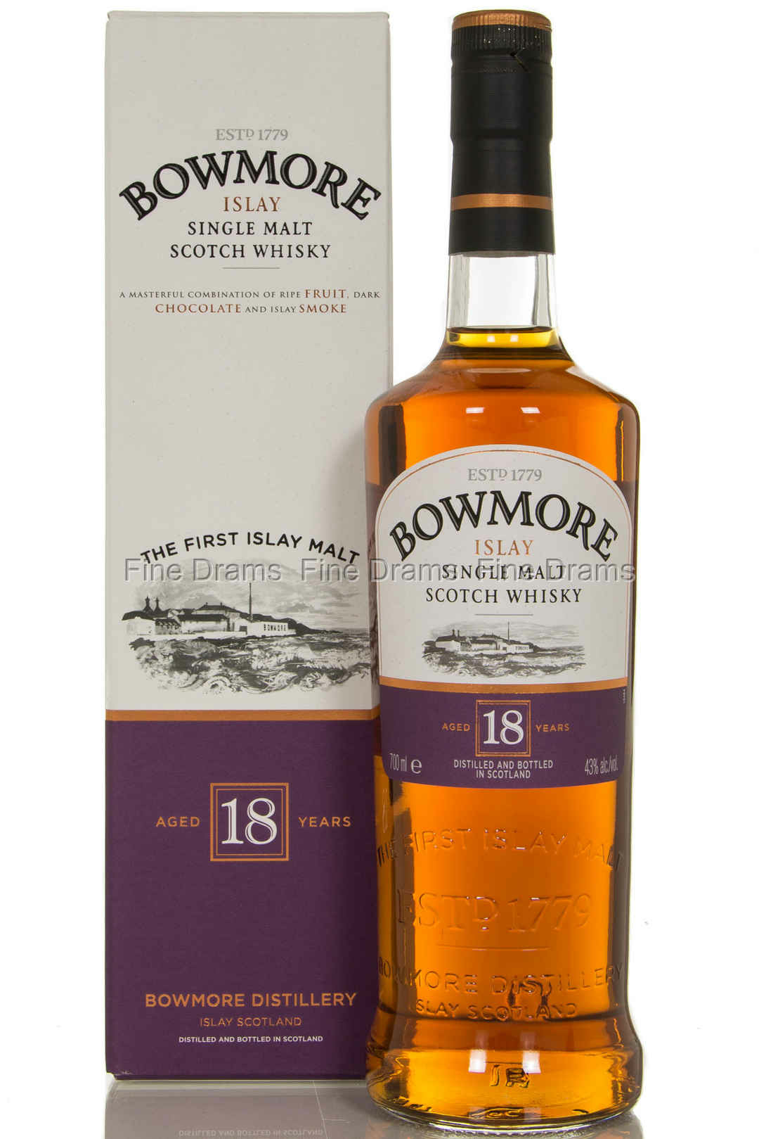 Bowmore 18 Year Old Whisky