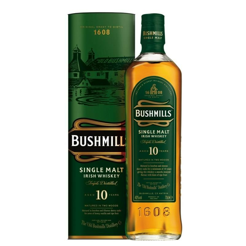Bushmills Single malt irish whiskey