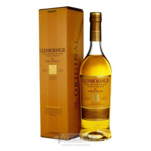 Glenmorangie whisky 10 éves (40%) 0,7 l