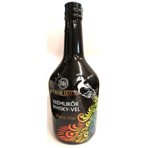 Deluxe Creme Whisky Krémlikőr 0,5l (15%)