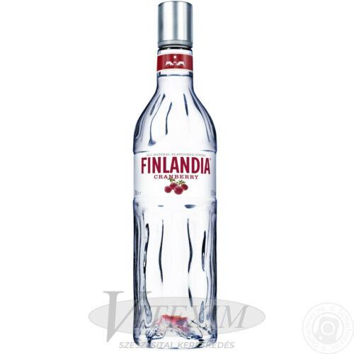 Finlandia Cranberry / áfonya (37,5%) 1,0 l