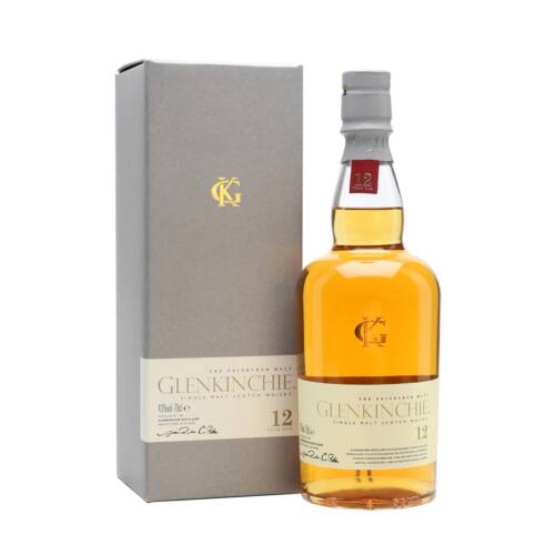 Glenkinchie Whisky 12 éves 0,7 l (43%)