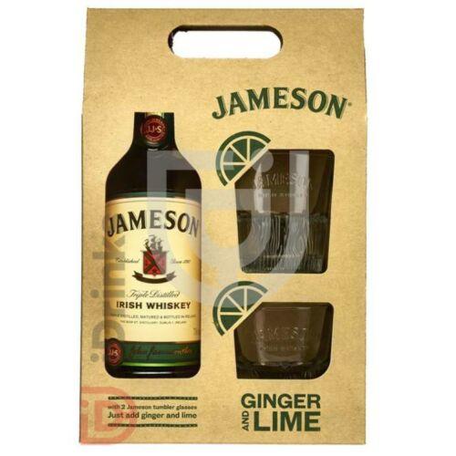Jameson Whiskey (40%) 0,7 l + 2 pohár DD