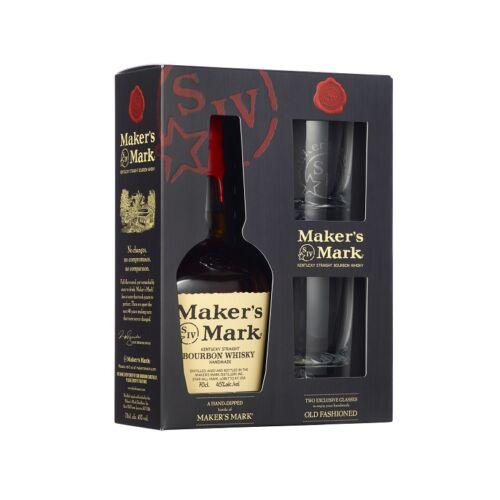 Maker's Mark Whisky + 2 pohár 0,7 l (45%)