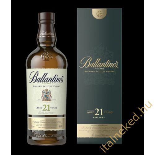Ballantine's 21 Year Old Whisky (40%) 0,7 l