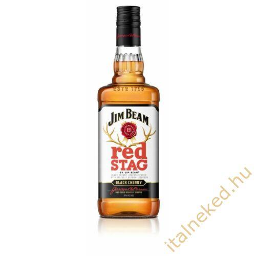 Jim Beam Red Stag Black Cherry Whiskey Liquor (32,5%) 1 l