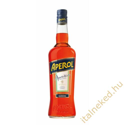 Aperol Aperitivo Barbieri gyomorkeserű (11%) 0,7 l