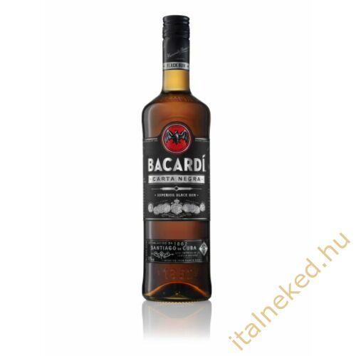 Bacardi Black Carta Negra Rum (40%) 0,7