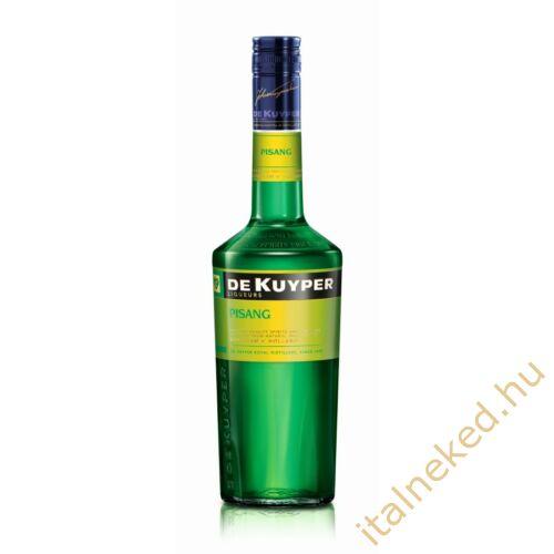 De Kuyper Pisang likőr (zöld banán) (20%) 0,7 l
