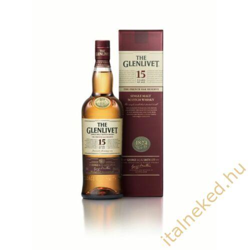 The Glenlivet 15 Years Whisky (40%) 0,7 l