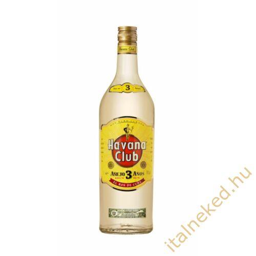 Havana Club Anejo 3 Year Old Rum (40%) 1 l