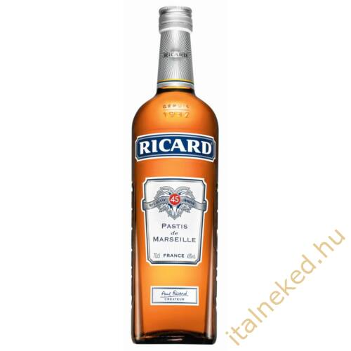 Ricard Pastis ánizslikőr (45%) 0,7 l