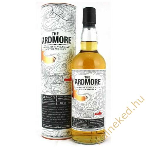 Ardmore Legacy Single Malt Whisky (díszdobozban) (40%) 0,7 l