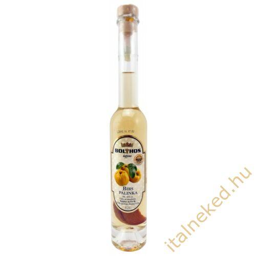 Bolyhos Ágyas Birs pálinka (50%) 0,5 l