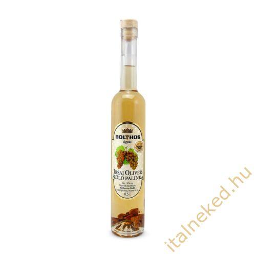 Bolyhos Ágyas Irsai Olivér pálinka (50%) 0,5 l