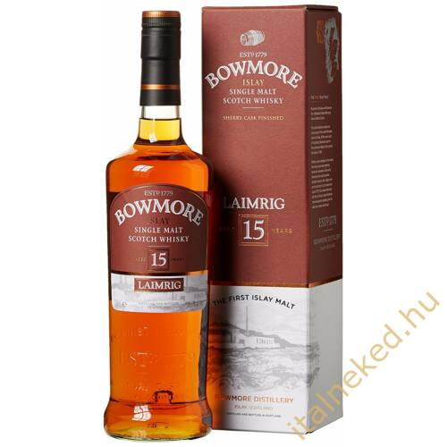 Bowmore 15 Year Old Whisky (40%) 0,7 l