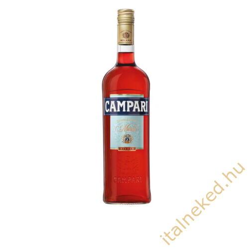 Campari Bitter gyomorkeserű (25%) 1,0 l