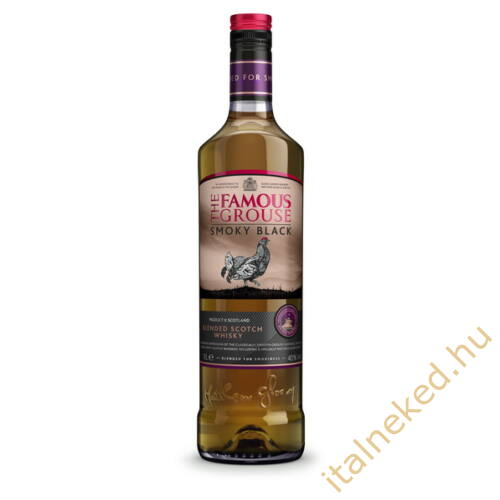 The Famous Grouse Smoky Black Whisky (40%) 0,7 l
