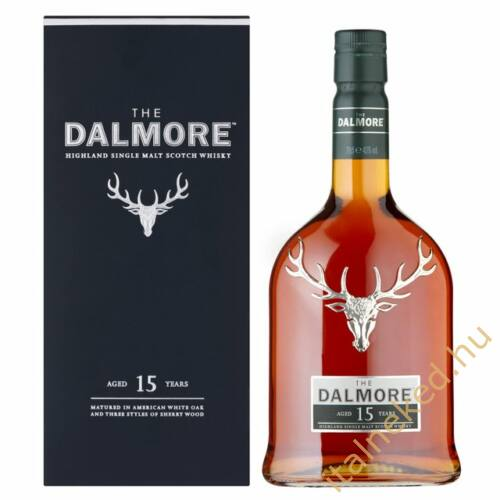 Dalmore 15 Year Old Whisky (40%) 0,7 l