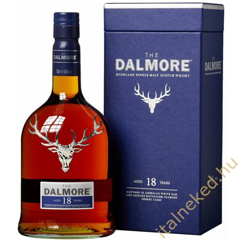 Dalmore 18 Year Old Whisky (43%) 0,7 l