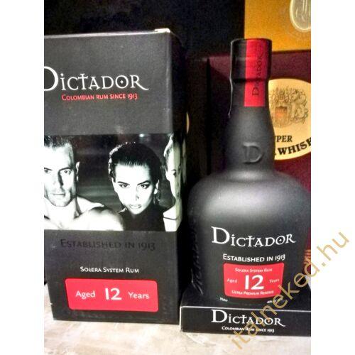 Dictador 12 Years Rum (40%) 0,7 l