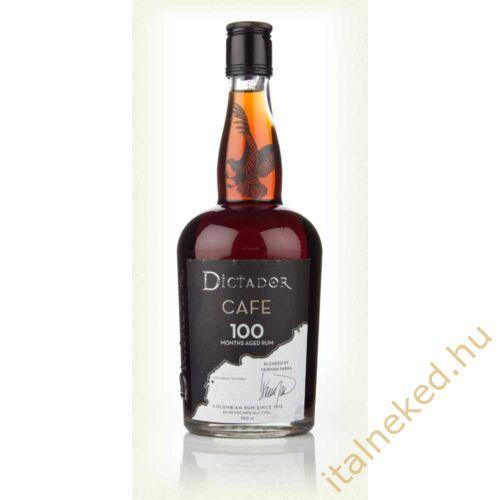 Dictador 100 months aged Cafe  rum 0,7 l (40 %)