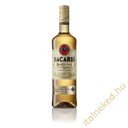 Bacardi Gold Rum (37,5%) 0,7