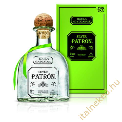 Patrón Silver Tequila (40%) 0,7 l