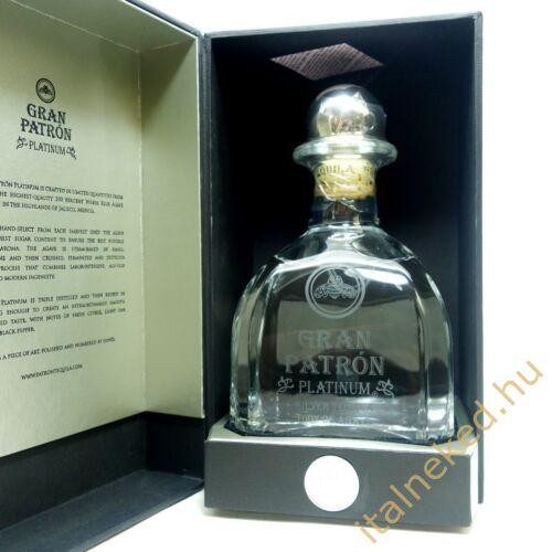 Patrón Gran Platinum Tequila (40%) 0,7 l