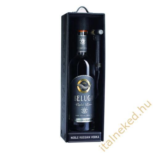 Beluga Gold Line Vodka (Bőr díszdoboz) (40%) 0,7 l