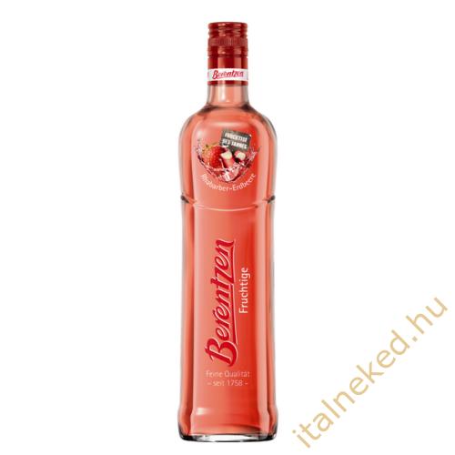Berentzen Rhabarber-Erdbeere (eperlikőr) (15%)  0,7 l