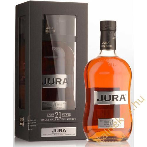 Jura 21 Years Whisky (44%) 0,7 l