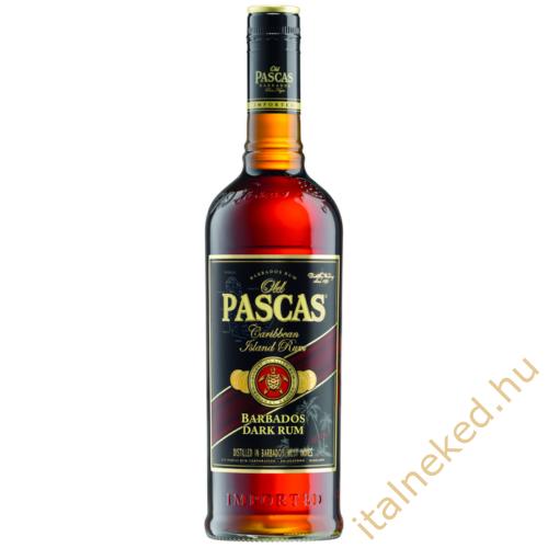Old Pascas Dark Barbados Rum (37,5%) 0,7 l
